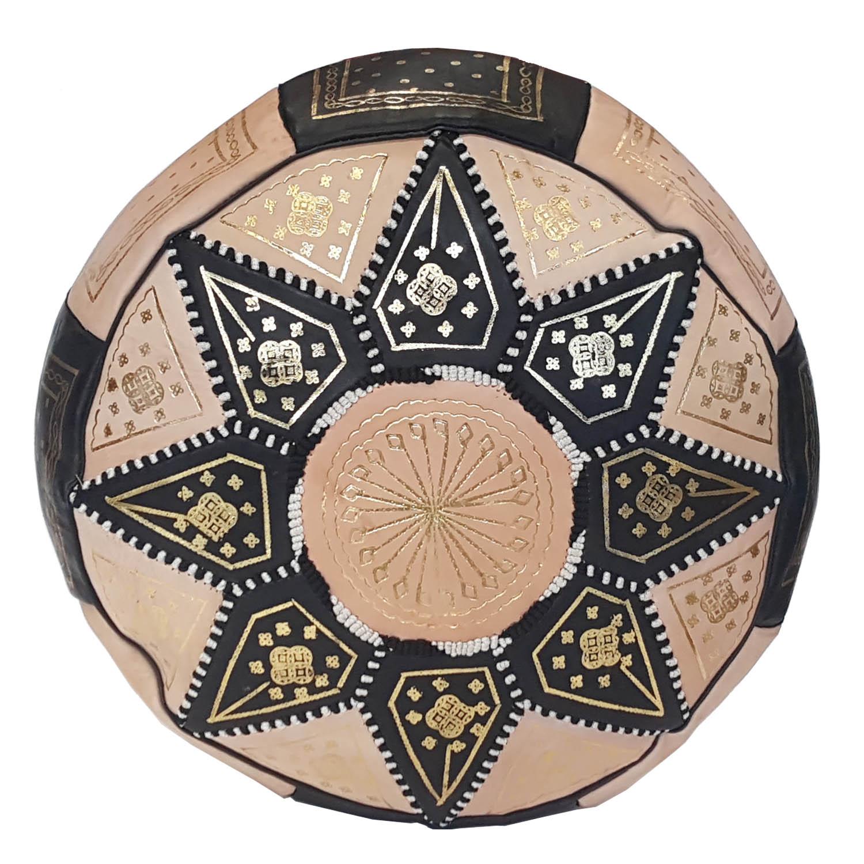 Orientalische Marokkanische Sitzkissen aus echtem Leder inkl Füllung.Nr 34 NEU
