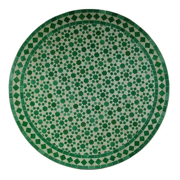 Mosaiktisch aus Marokko - Rund -M60-10