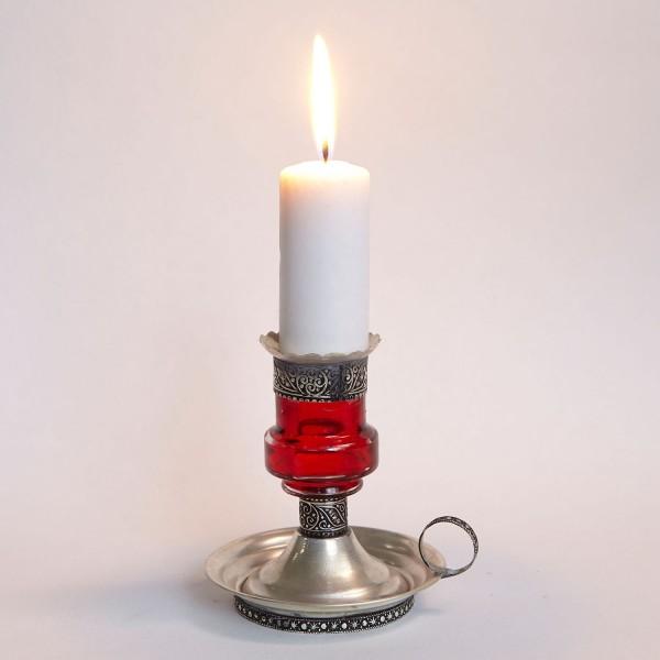 Kerzenständer Aladin Rot