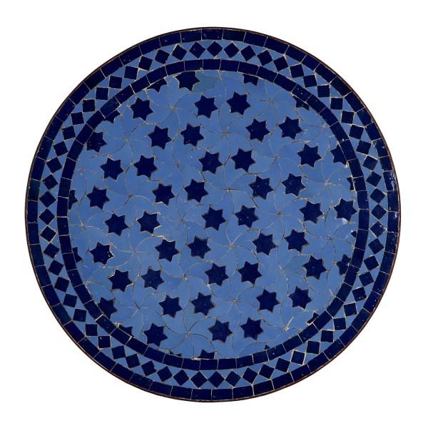 Mosaiktisch aus Marokko - Rund -M60-25