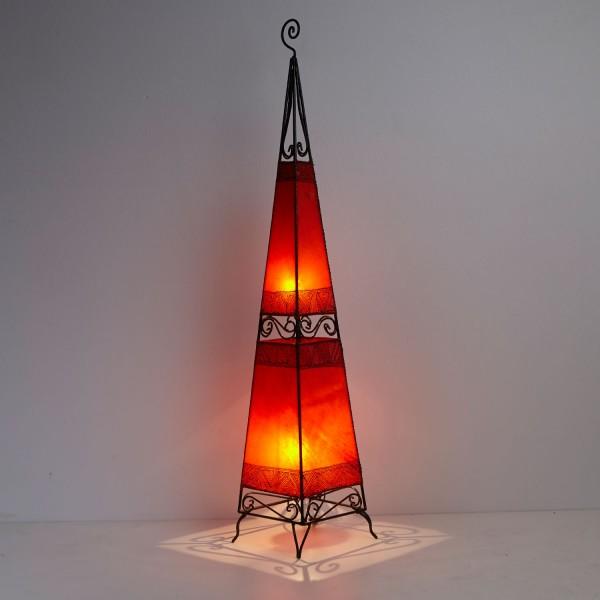 XL Lederlampe Raket H150 Rot