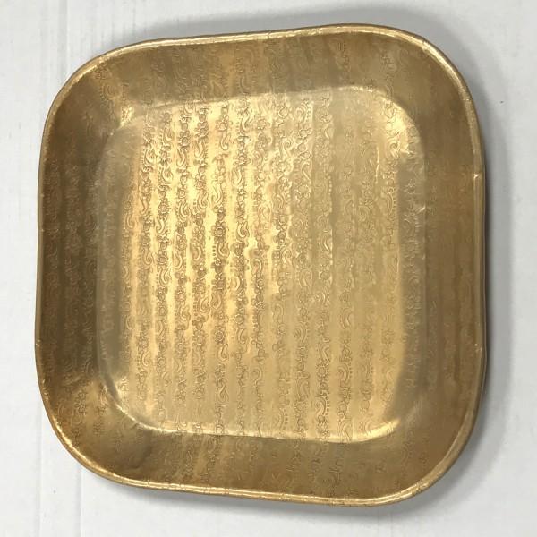 Tablett Prisma Gold