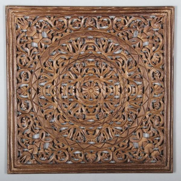Orientalisches Holz Mandala Lema