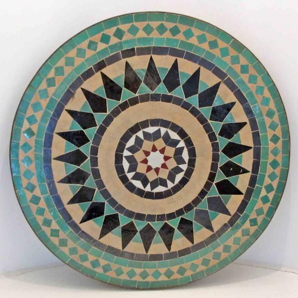 Mosaiktisch Stern aus Marokko
