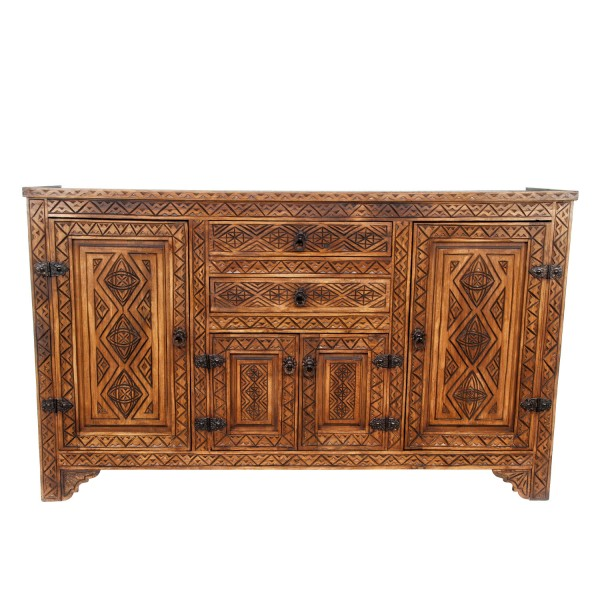 Marokkanische Holz Kommode Azrou
