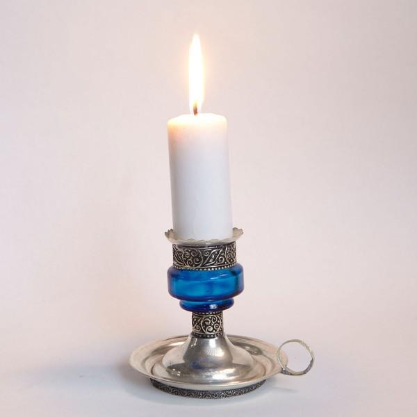 Kerzenständer Aladin Blau
