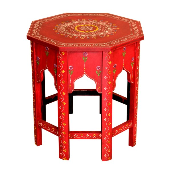 Orientalischer Beistelltische Saada Rot M
