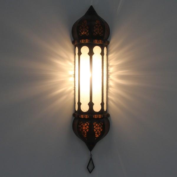 Marokkanische Wandlampe Ruya Weiß
