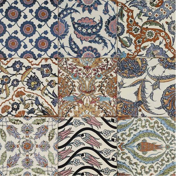 Orientalische Patchwork Fliesen Sousse