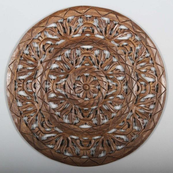 Holz-Mandala Nafisa