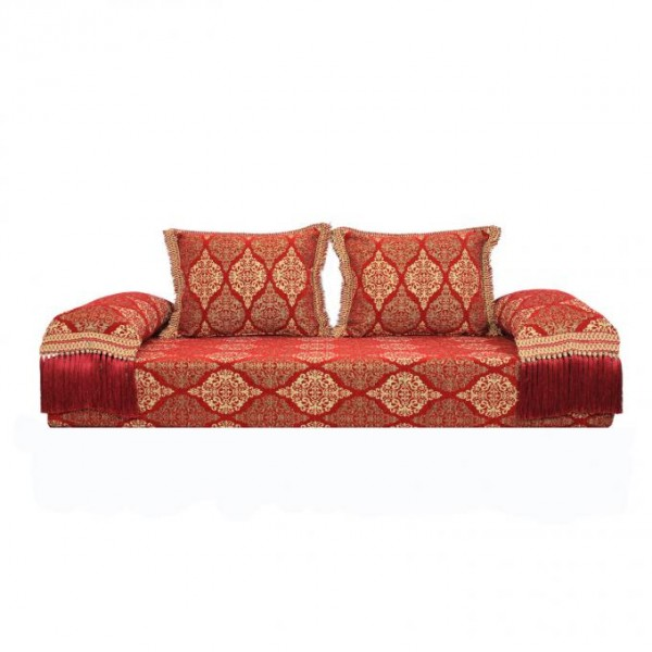 Orientalisches Sofa Salma Rot 25