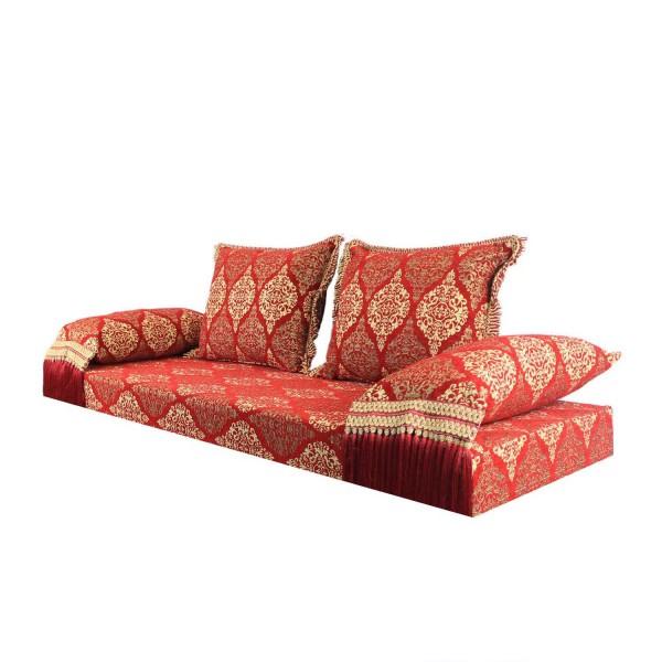 Orientalisches Sofa Salma rot 15