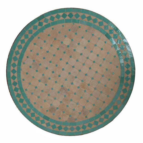 Mosaiktisch aus Marokko - Rund - M60-50