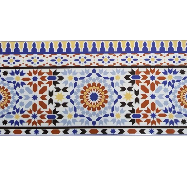 Fliesen Bordüre aus Marokko Kenitra