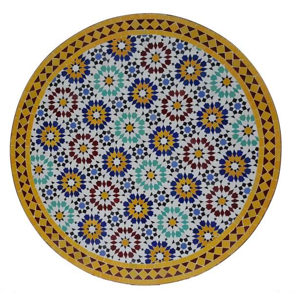 Mosaiktisch D100 Ankabut Gelb
