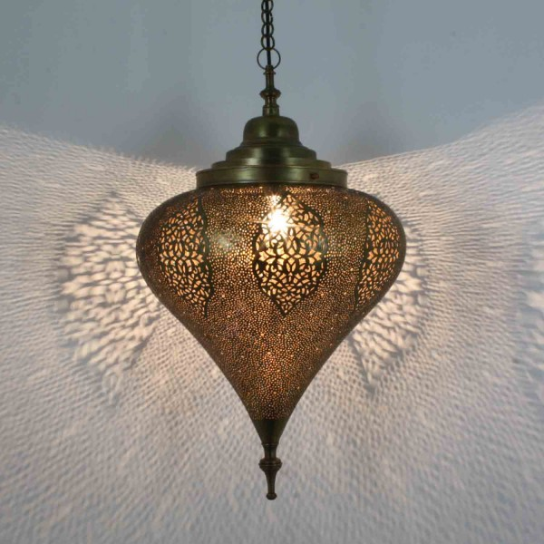 Orient Messinglampe Belouta
