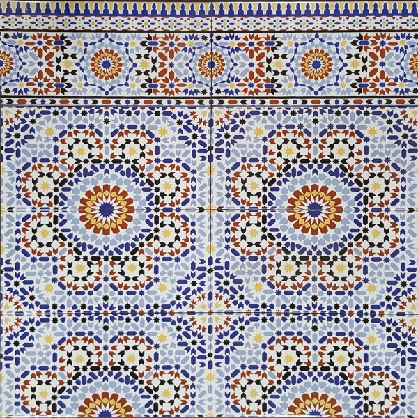 Marokkanische Wand-Fliesen Kenitra