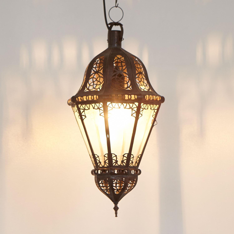 mediterrane lampen aus stoff lampions