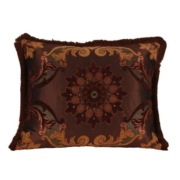 Wunderschönes Kissen aus Marokko Mina-Braun