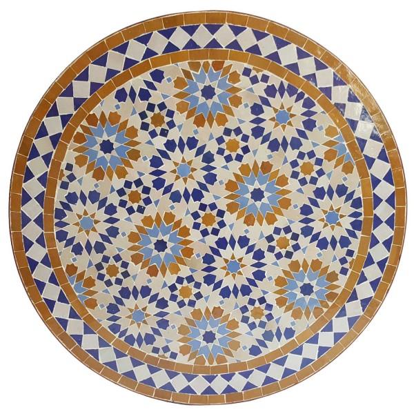 Mosaik Bistrotisch 70cm Ankabut Braun