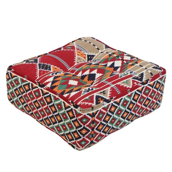 Orientalischer Sitz-Pouf Kelim