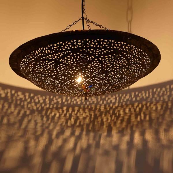 Orientalische Messinglampe Jana