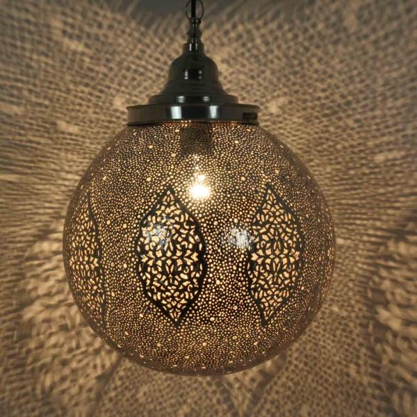 Marokkanische Silberlampe Labiba