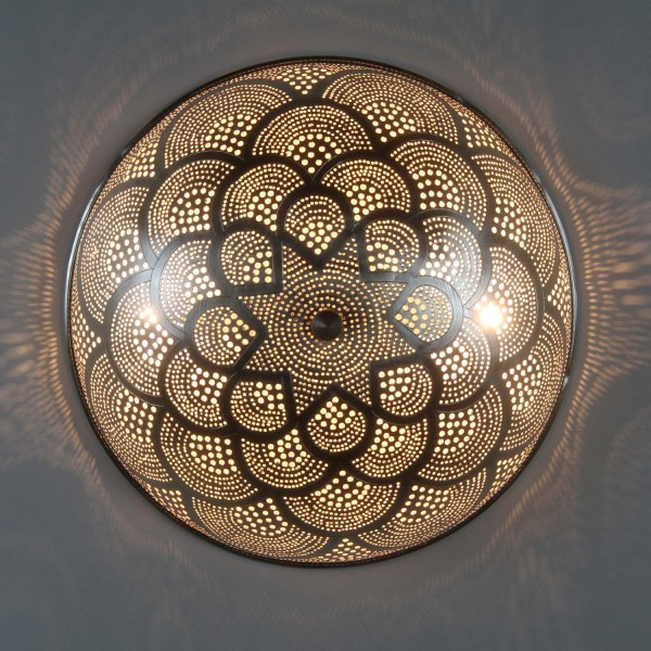 Ägyptische Silber-Wandlampe Rahila D31