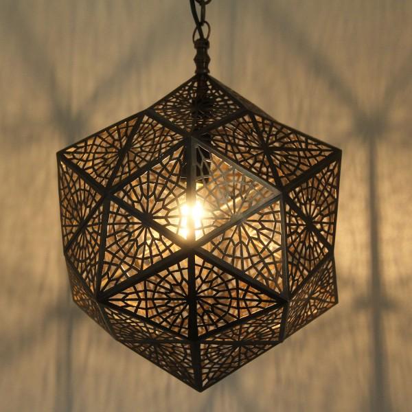 Marokkanische Messinglampe Makaya