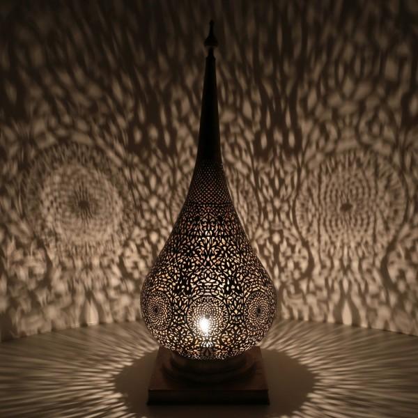 Messinglampe Jalal