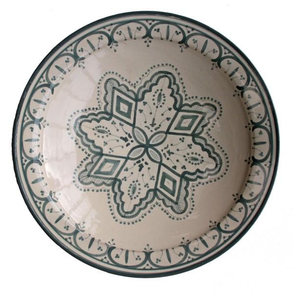 handbemalte Keramikschale aus Marokko F028