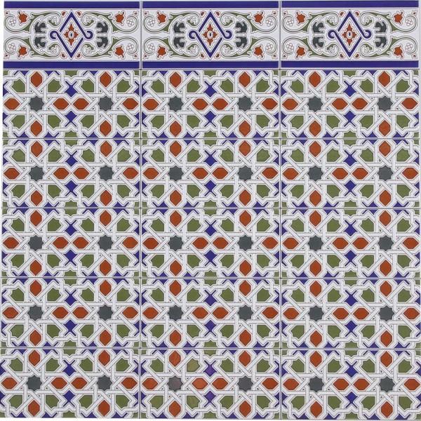 Marokkanische Fliese Rayhan