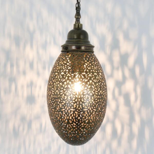 Marokkanische Messinglampe Yilma