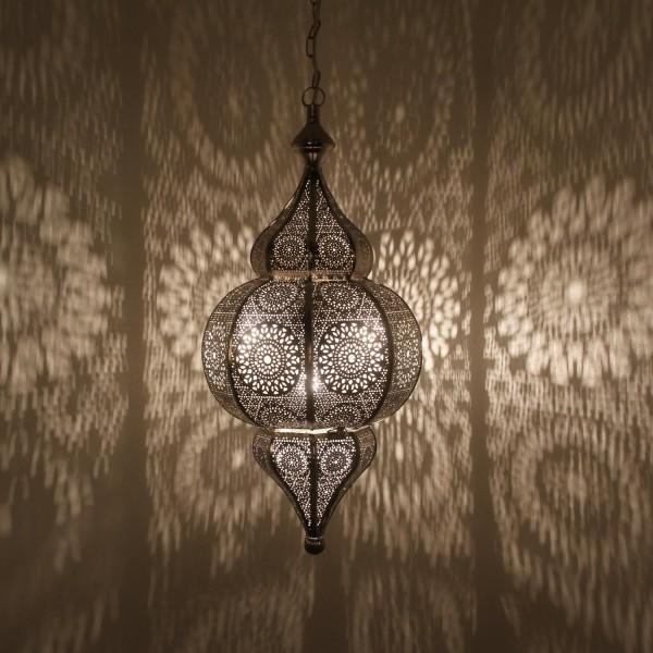 Orientalische Silberlaterne Melisa