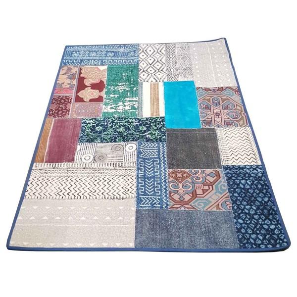 Orientalischer Patchwork Teppich Babita