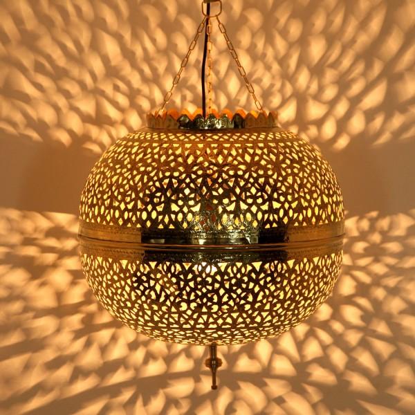 Orientalische Messinglampe Assiya