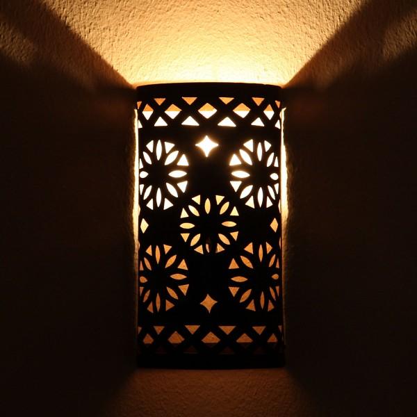 Orientalische Eisen Wandlampe EWL08