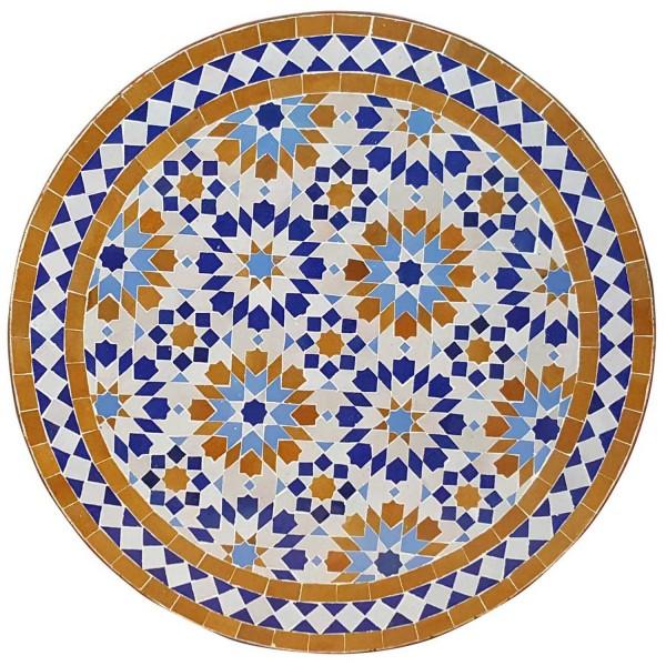 Mosaiktisch D60 Ankabut Braun