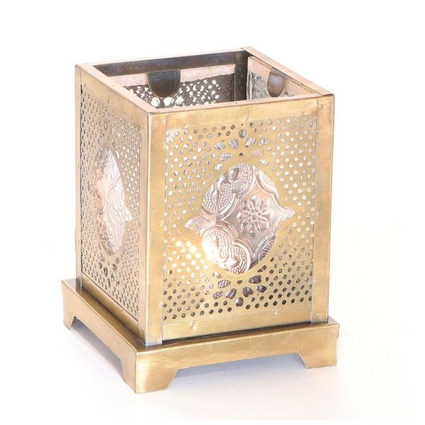 Orientalisches Glas-Windlicht Mahir