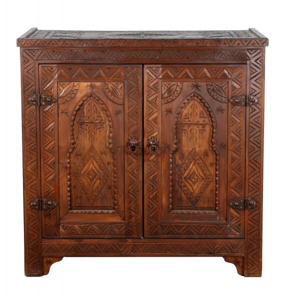 Marokkanische Holz Kommode Baha