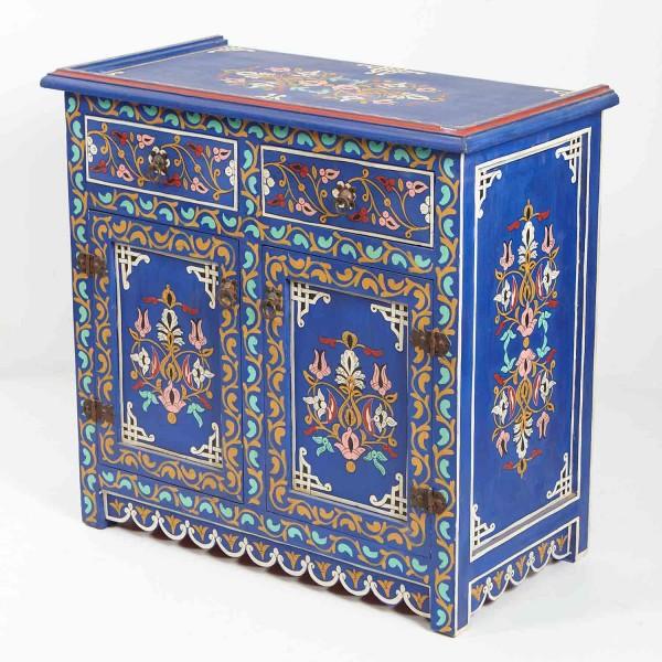 Orientalische Holzkommode Azra