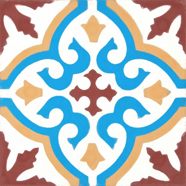 Marokkanische Zementfliesen 403