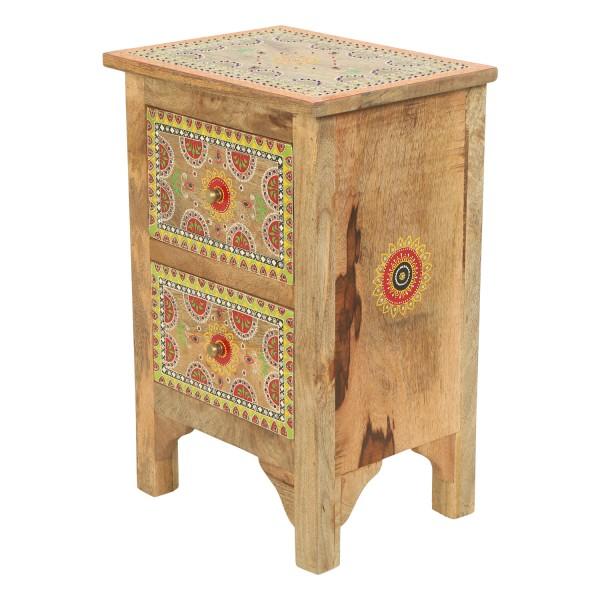 Orientalische handbemalte Kommode Jivan