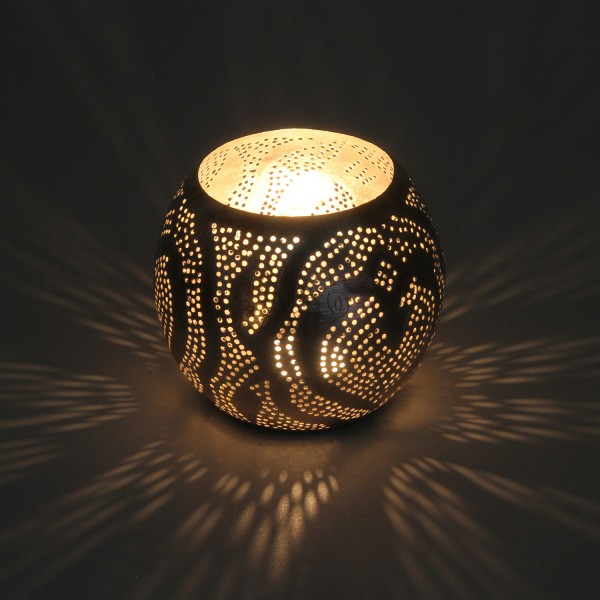 Orientalisches Windlicht Silberlaterne Nuria