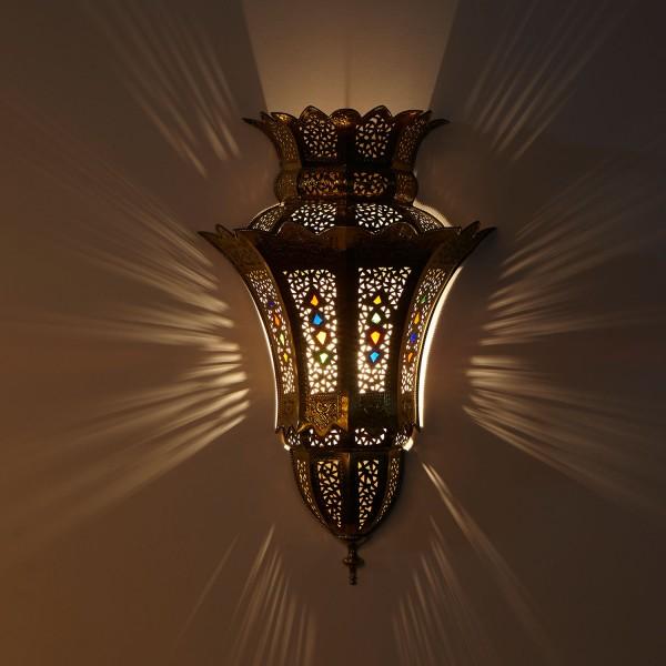 Messing-Wandlampe ibtissam