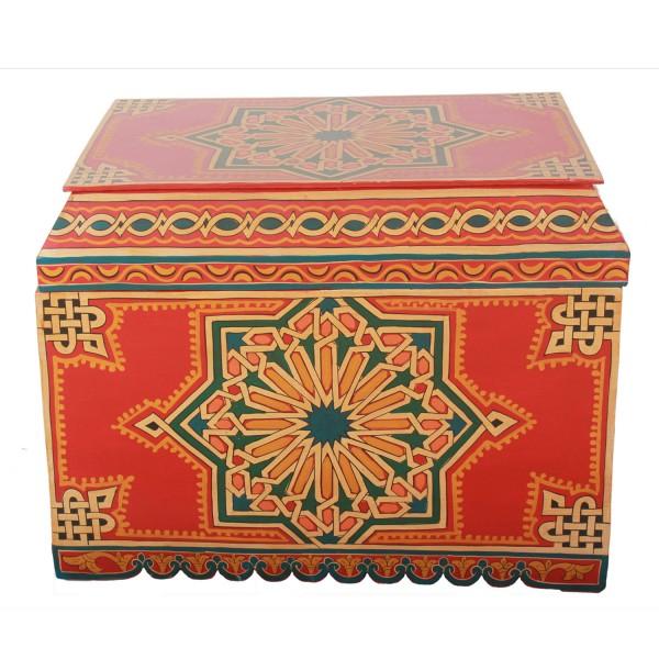 Marokkanische Holztruhe 50001
