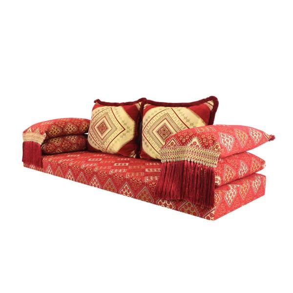 Orientalisches Sofa Oman rot 15