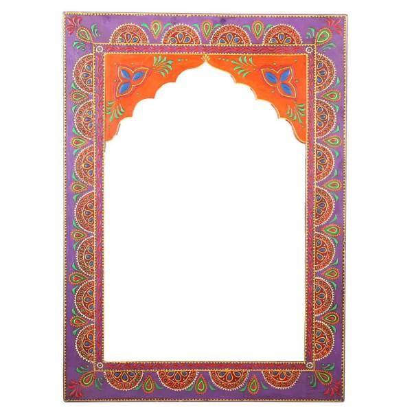 Orientalischer Spiegel Shyla Lila