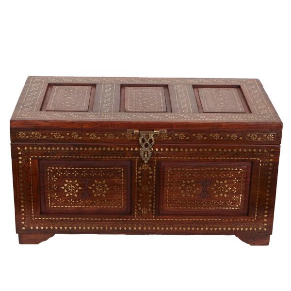 Orientalische Holztruhe Enisa XL