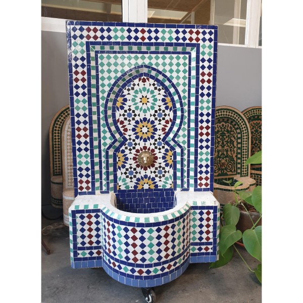 Mosaikbrunnen Ratila Türkis
